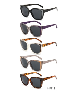 12 Pieces/Pack Fashion Woman Sunglasses 14F412