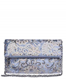 Urban Expressions Rhapsody Clutch Bag 15360 SLATE