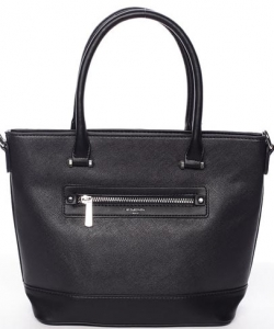 Women's bag 5731-4 DAVID JONES CREAMY BLACK