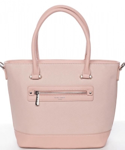 Women's bag 5731-4 DAVID JONES CREAMY PINK