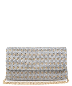 Urban Expressions Bahamas Clutch Bag 15850C  GRAY