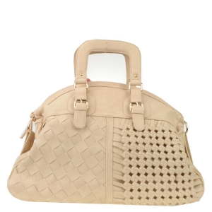 Large Woven Tote X29 15922 WHITE