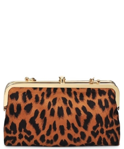Urban Expression Alicia Clutch 16346C LEOPARD