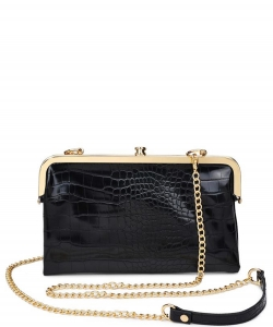 Urban Expression Alicia Clutch 16346C BLACK