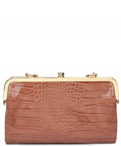 Urban Expression Alicia Clutch 16346C MOCHA