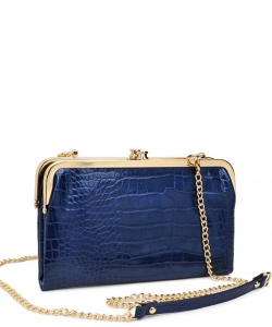 Urban Expression Alicia Clutch 16346C NAVY