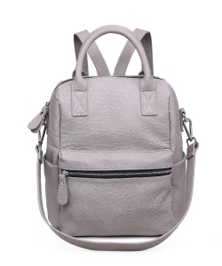 Urban Expressions Andrei Textured Backpack 16368A GRAY
