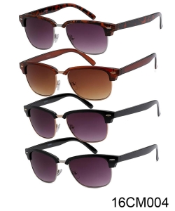 1 Dozen Pack Designer Inspired  Fashion Sunglasses 16CM004