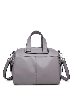 Urban Expressions Calvin Satchel Bag GRAY
