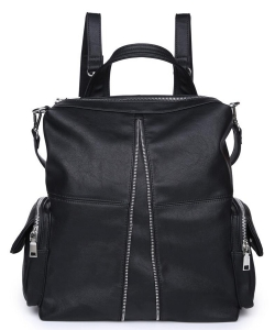Urban Expressions Dallas Backpack 18139   BLACK