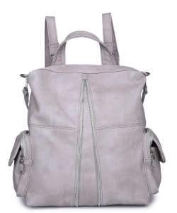 Urban Expressions Dallas Backpack 18139  GRAY