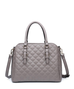 Urban Expressions Clayton Satchel Bag 18216 TAUPE
