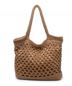 Urban Expressions Corazon Tote Bag 18553  NATURAL