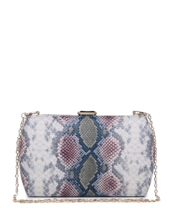 Urban expression Snake Skin Clutch 18836 - BLUSH MT