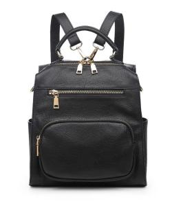 Urban Expressions Miles Vegan Leather Backpack 19357