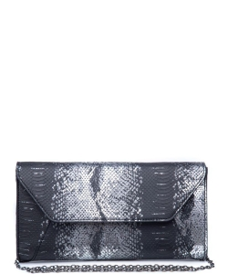 Urban Expressions Dakota Clutch Bag 19509MS BLACK