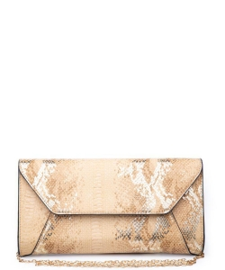 Urban Expressions Dakota Clutch Bag 19509MS GOLD