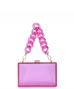 Urban Expressions Lizzo Clutch Bag 19684 PINK