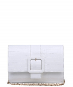 Urban Expressions Valerie Clutch Bag 19767 WHITE