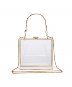 Urban Expressions Polly Evening Bag 19818 CLEAR