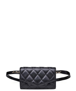 Urban Expressions Rhytm Belt Bag 20251 BLACK