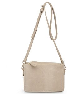 Urban Expressions Rayna Snake Vegan Leather Crossbodybag 20278S CREAM