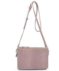 Urban Expressions Rayna Snake Vegan Leather Crossbodybag 20278S MAUVE