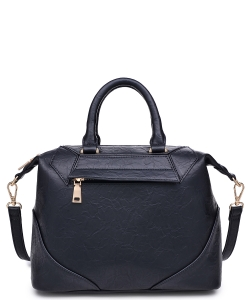 Urban Expression Hayden Pebbled Vegan Leather 20475  BLACK