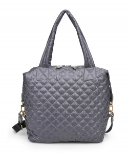 Urban Expressions Wanderlust Medium Tote Bag 20497M GRAY