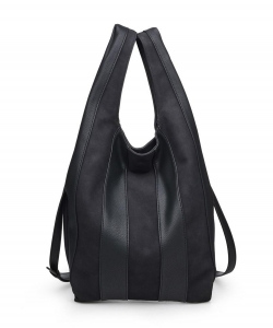 Urban Expressions Rocco Hobo Bag 20511 BLACK
