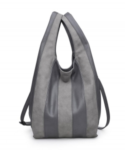 Urban Expressions Rocco Hobo Bag 20511 GRAY