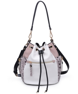 Urban Expresions Beau Bag 21194 WHITE MULTI