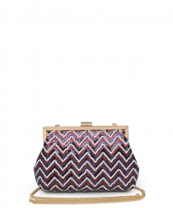 Urban Expressions Billie Evening Bag 21603 RED Multi