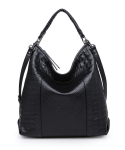 Urban Expressions Ashton Hobo Bag BLACK