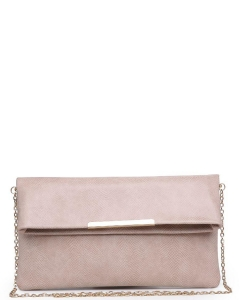 Urban Expressions Amber Clutch Bag 21869LZ NUDE