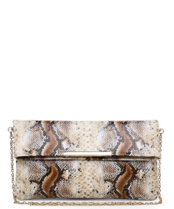 Urban Expressions Amber Clutch Bag 21869s NATURAL/MULTI