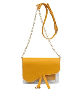 Urban Expressions Rally Vegan Leather Crossbodybag 21909 MUSTARD