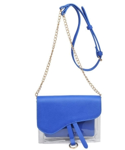 Urban Expressions Rally Vegan Leather Crossbodybag 21909 RBLUE