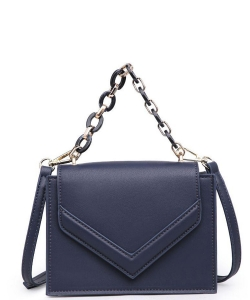 Urban Expressions Rylea Vegan Leather Crossbodybag 21994 NAVY