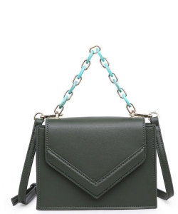 Urban Expressions Rylea Vegan Leather Crossbodybag 21994 OLIVE