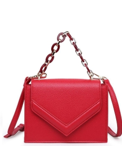 Urban Expressions Rylea Vegan Leather Crossbodybag 21994C RED