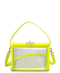Urban Expressions Judy Crossbody Bag 22266 NEON YELLOW
