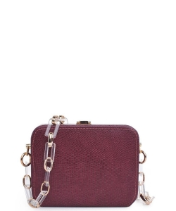 Urban Expressions Gwen  Mini Crossbody Bag  22851L WINE