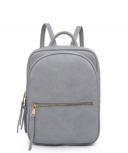 Urban Expressions Mercer Backpack 23348 DOVE GRAY