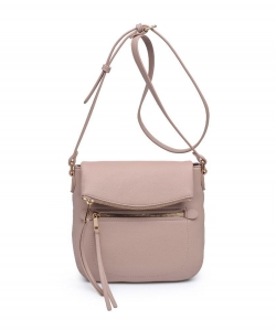 Urban Expressions Jean Crossbody Bag 23486 NUDE