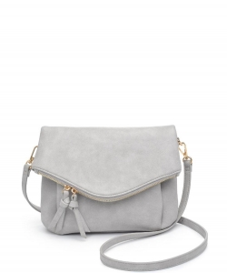 Urban Expressions Erin Crossbody Bag 23689 GRAY