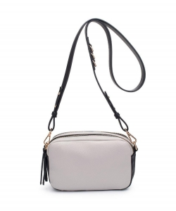 Urban Expressions Audrey Crossbody Bag 23902 GRAY