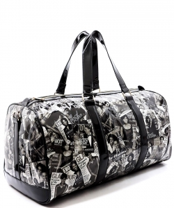 Magazine Cover College Duffel Bag PA0036