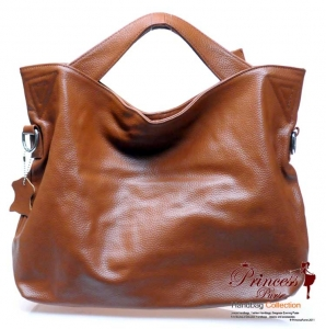 Sleek and Modern Designer Genuine Leather Handbag