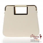 Designer Inspired Square Like shape Faux Leather Handbag